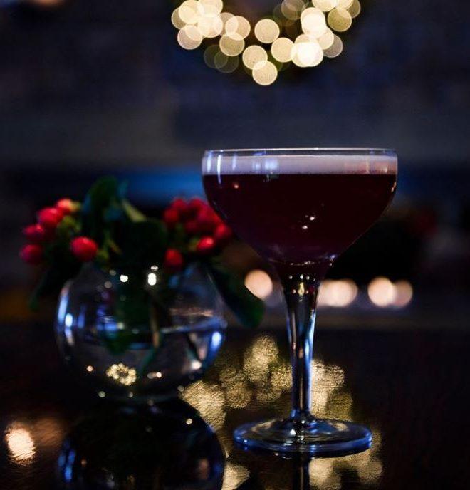 Christmas Gin cocktail at Dakota Eurocentral