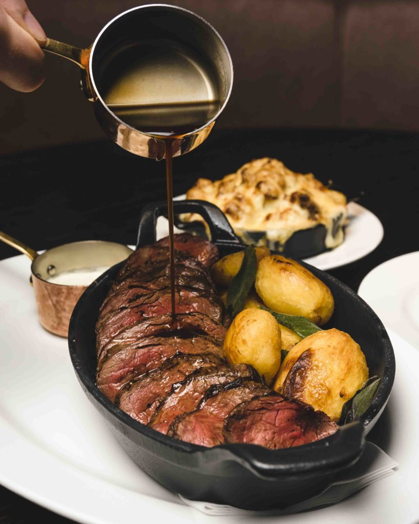 Dakota Hotel Glasgow Chateaubriand