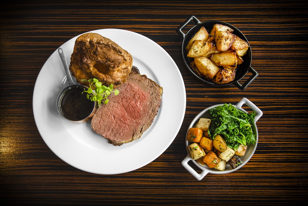 Dakota Hotel Leeds - Beef and Yorkshire Pudding
