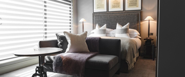 Dakota Hotel Leeds bedroom room suite