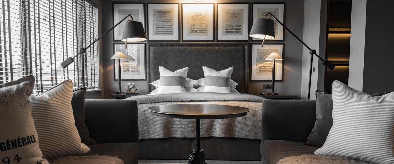 Dakota Hotel Leeds deluxe room suite