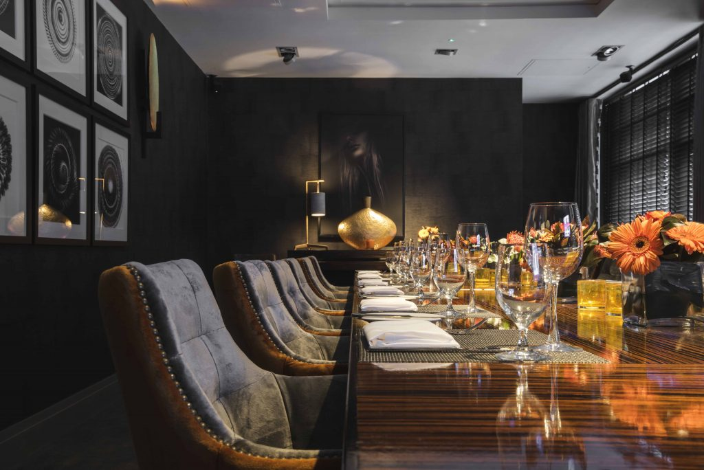 Christmas private dining in Leeds