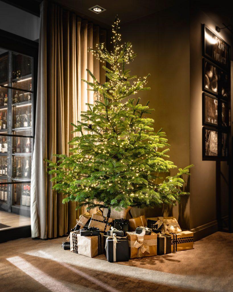 Christmas Tree in Manchester at Dakota